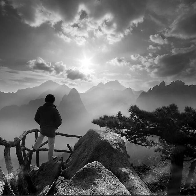 描写美丽的山的词语_一组唯美的风景图片_风景的句子_好词好句大全