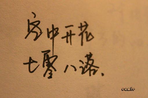 漂亮带文字的唯美图片_漂亮的钢笔字,伤感个性签名(3)_伤感的句子_好词好句大全